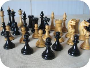 Как отреставрировать шахматы